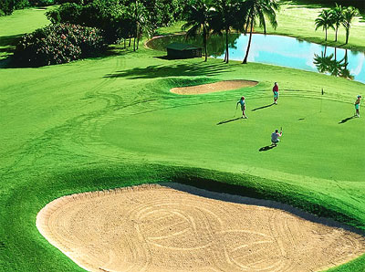 Golf Course on Grand Bahama